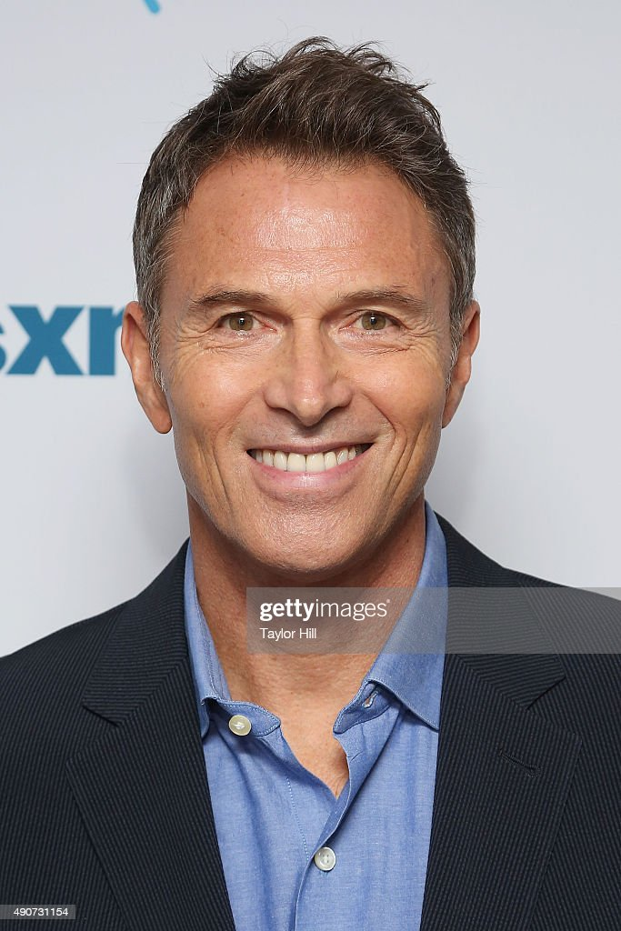 Tim Daly visits the SiriusXM Studios on September 30, 2015 in New York City.