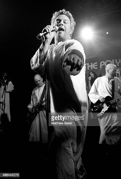 Tim DeLaughter of The Polyphonic Spree performs on stage at Electric Ballroom on September 3 2015 in London England