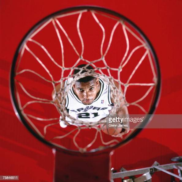 Tim Duncan of the San Antonio Spurs during a portrait shoot in San Antonio Texas NOTE TO USER User expressly acknowledges that by downloading and or...