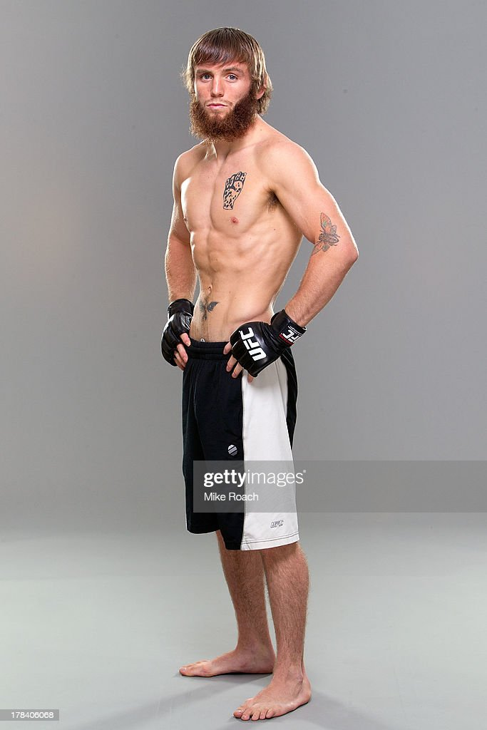 Tim Elliott poses for a portrait during a UFC photo session at the Hilton Milwaukee City Center on August 29, 2013 in Milwaukee, Wisconsin.