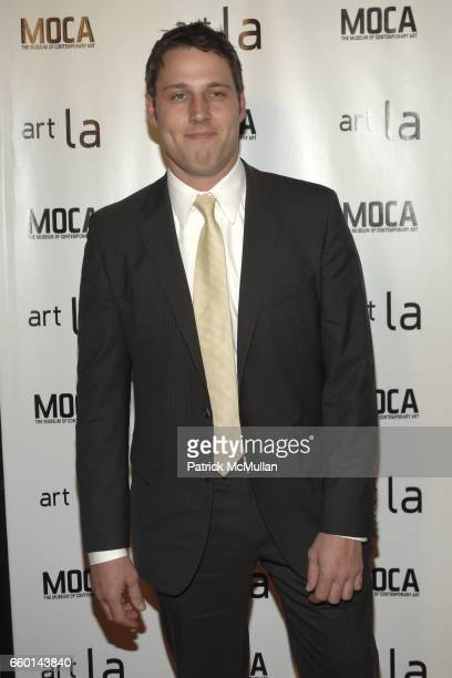 Tim Fleming attends Art LA 2009 VIP Opening Night Reception Benefiting MOCA at Barker Hangar on January 22 2009 in Santa Monica California