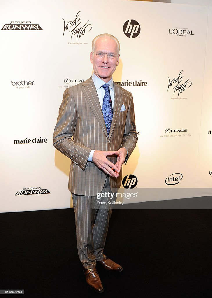<a gi-track='captionPersonalityLinkClicked' href=/galleries/search?phrase=Tim+Gunn&family=editorial&specificpeople=696109 ng-click='$event.stopPropagation()'>Tim Gunn</a> at Lord & Taylor on September 5, 2012 in New York City.