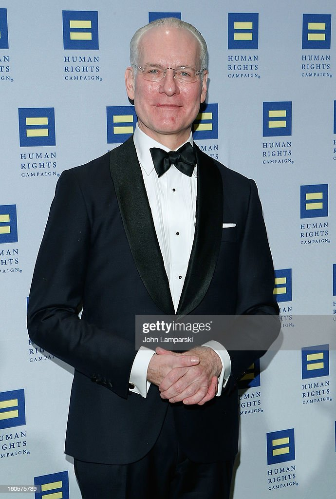 Tim Gunn attends The 2013 Greater New York Human Rights Campaign Gala at The Waldorf=Astoria on February 2, 2013 in New York City.