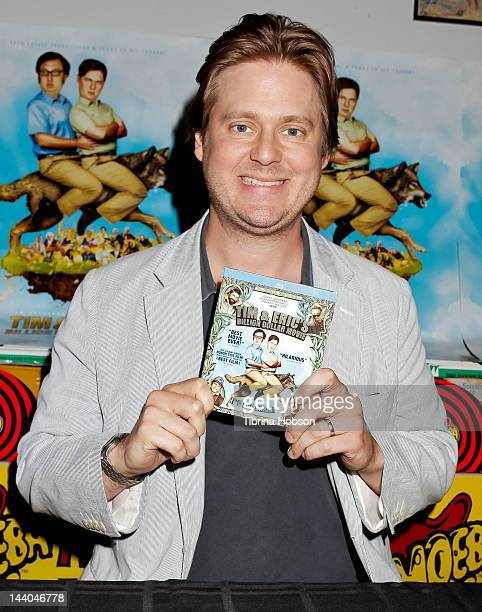 Tim Heidecker attends 'Tim and Eric's Billion Dollar Movie' bluray disc and DVD release party at Amoeba Music on May 8 2012 in Hollywood California