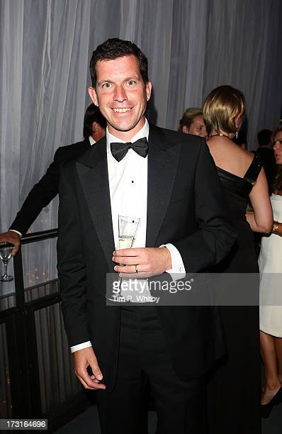 Tim Henman attends the Novak Djokovic Foundation inaugural London gala dinner at The Roundhouse on July 8 2013 in London England The foundation...