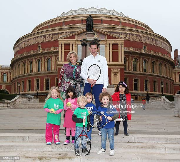 Tim Henman launches the Statoil Masters Tennis in aid of Best Beginnings starting today at the Royal Albert Hall with Best Beginnings CEO Alison...