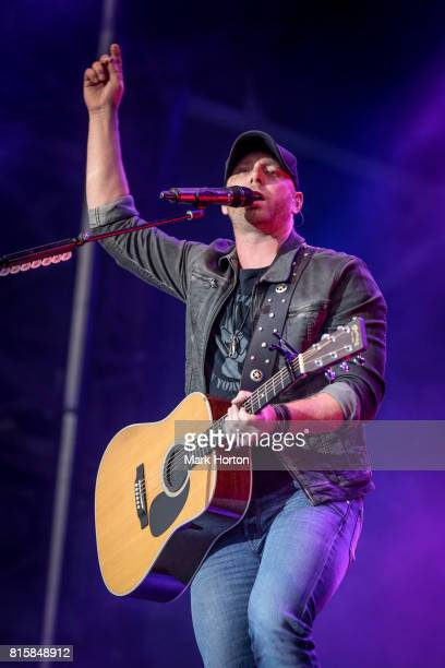 Tim Hicks performs on Day 10 of the RBC Bluesfest on July 16 2017 in Ottawa Canada
