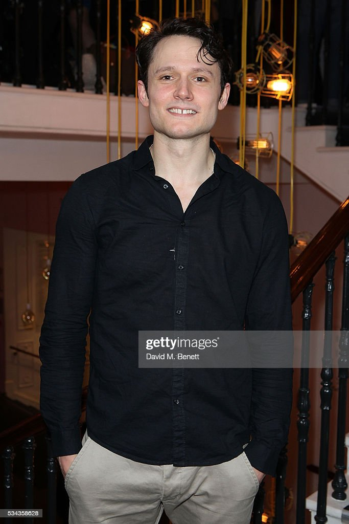 Tim Hodges attends the press night after party for 'Jekyll Hyde' at The Old Vic Theatre on May 25 2016 in London England