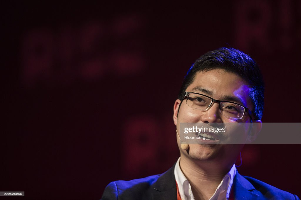 Tim Hwang, chief executive officer of Fiscal Note Inc., speaks during the Rise conference in Hong Kong, China, on Tuesday, May 31, 2016. The conference runs through June 2. Photographer: Justin Chin/Bloomberg via Getty Images