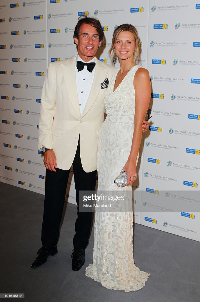 Tim Jeffries and Malin Jeffries attend the annual Raisa Gorbachev Foundation Party at Stud House, Hampton Court on June 5, 2010 in London, England.