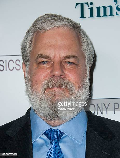 Tim Jenison arrives at the Premiere Of Sony Pictures Classics' 'Tim's Vermeer' at Pacific Design Center on January 29 2014 in West Hollywood...