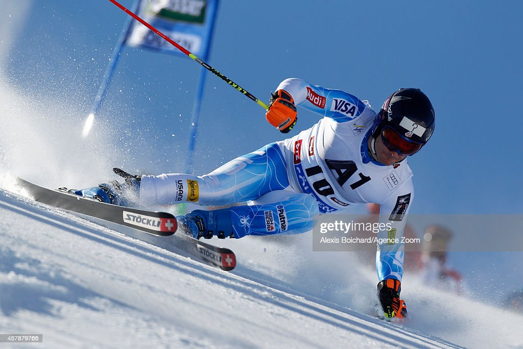 <a gi-track='captionPersonalityLinkClicked' href=/galleries/search?phrase=Tim+Jitloff&family=editorial&specificpeople=2500888 ng-click='$event.stopPropagation()'>Tim Jitloff</a> of the USA competes during the Audi FIS Alpine Ski World Cup Men's Giant Slalom on October 26, 2014 in Soelden, Austria.