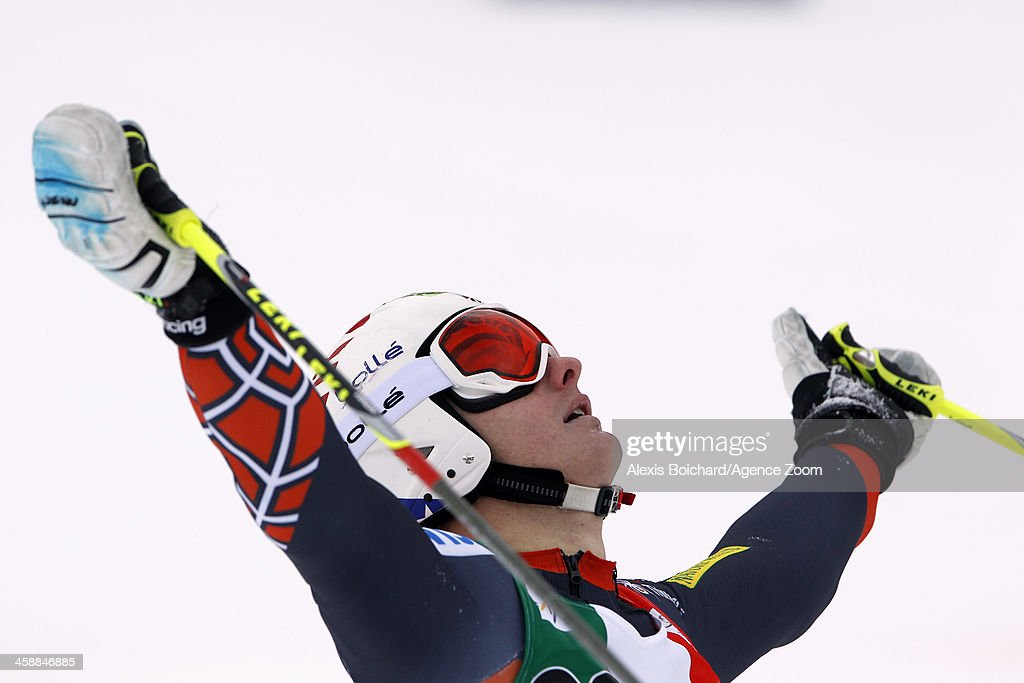 <a gi-track='captionPersonalityLinkClicked' href=/galleries/search?phrase=Tim+Jitloff&family=editorial&specificpeople=2500888 ng-click='$event.stopPropagation()'>Tim Jitloff</a> of the USA competes during the Audi FIS Alpine Ski World Cup Men's Giant Slalom on December 22, 2013 in Alta Badia, Italy.