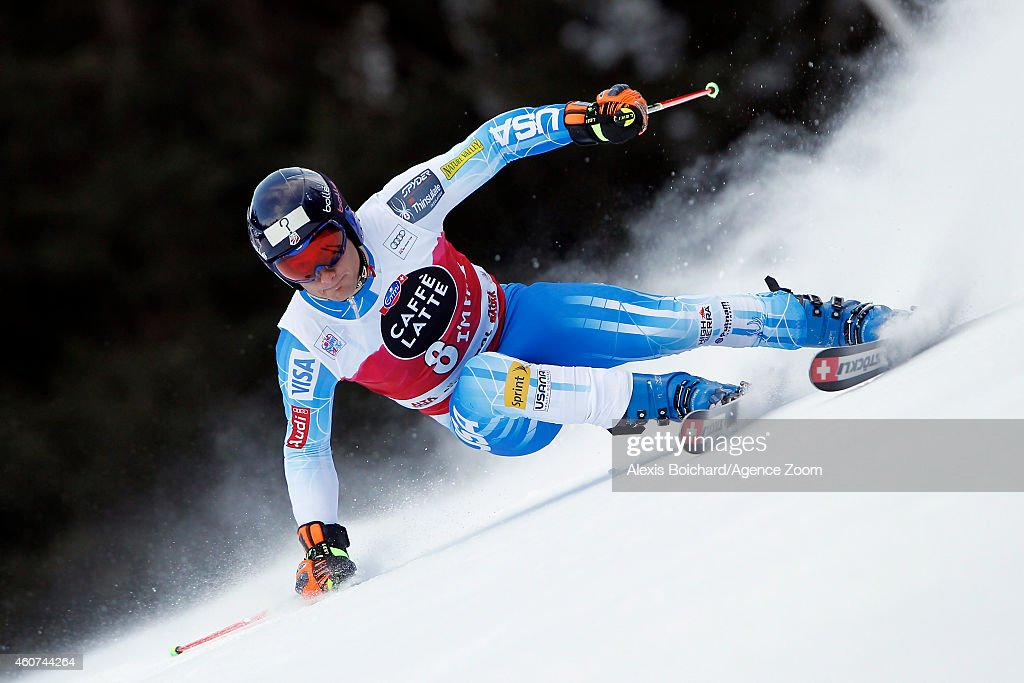 <a gi-track='captionPersonalityLinkClicked' href=/galleries/search?phrase=Tim+Jitloff&family=editorial&specificpeople=2500888 ng-click='$event.stopPropagation()'>Tim Jitloff</a> of the USA competes during the Audi FIS Alpine Ski World Cup Men's Giant Slalom on December 21, 2014 in Alta Badia, Italy.