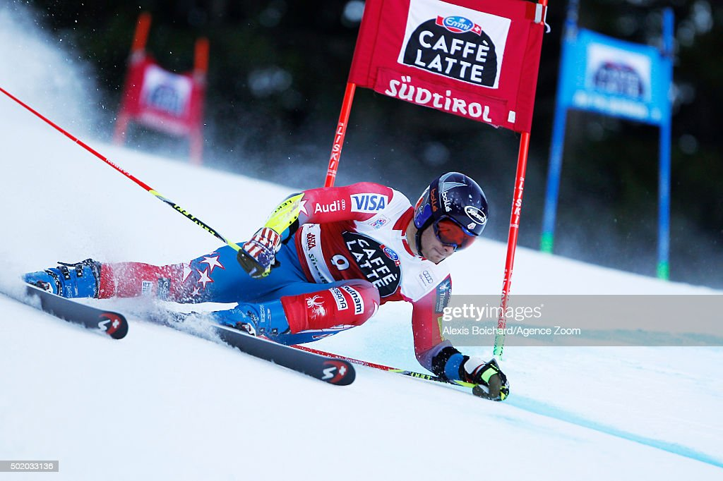 <a gi-track='captionPersonalityLinkClicked' href=/galleries/search?phrase=Tim+Jitloff&family=editorial&specificpeople=2500888 ng-click='$event.stopPropagation()'>Tim Jitloff</a> of the USA competes during the Audi FIS Alpine Ski World Cup Men's Giant Slalom on December 20, 2015 in Alta Badia, Italy.