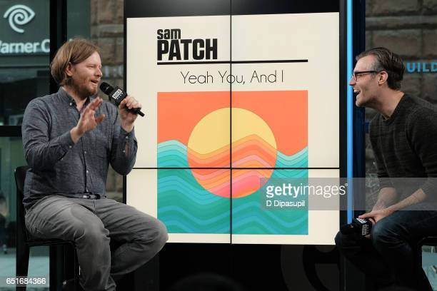 Tim Kingsbury of Arcade Fire visits the Build Series to discuss his debut solo album as Sam Patch at Build Studio on March 10 2017 in New York City