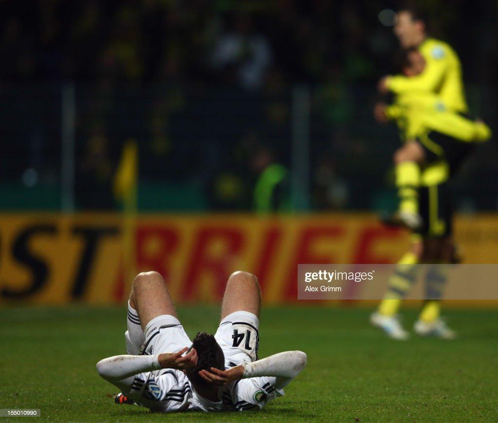 VfR Aalen v Borussia Dortmund - DFB Cup