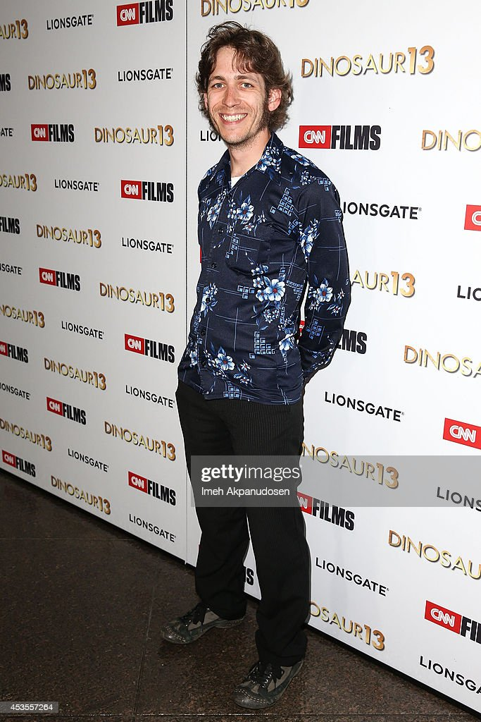 Tim Larson attends the premiere of Lionsgate and CNN Films' 'Dinosaur 13' at DGA Theater on August 12, 2014 in Los Angeles, California.