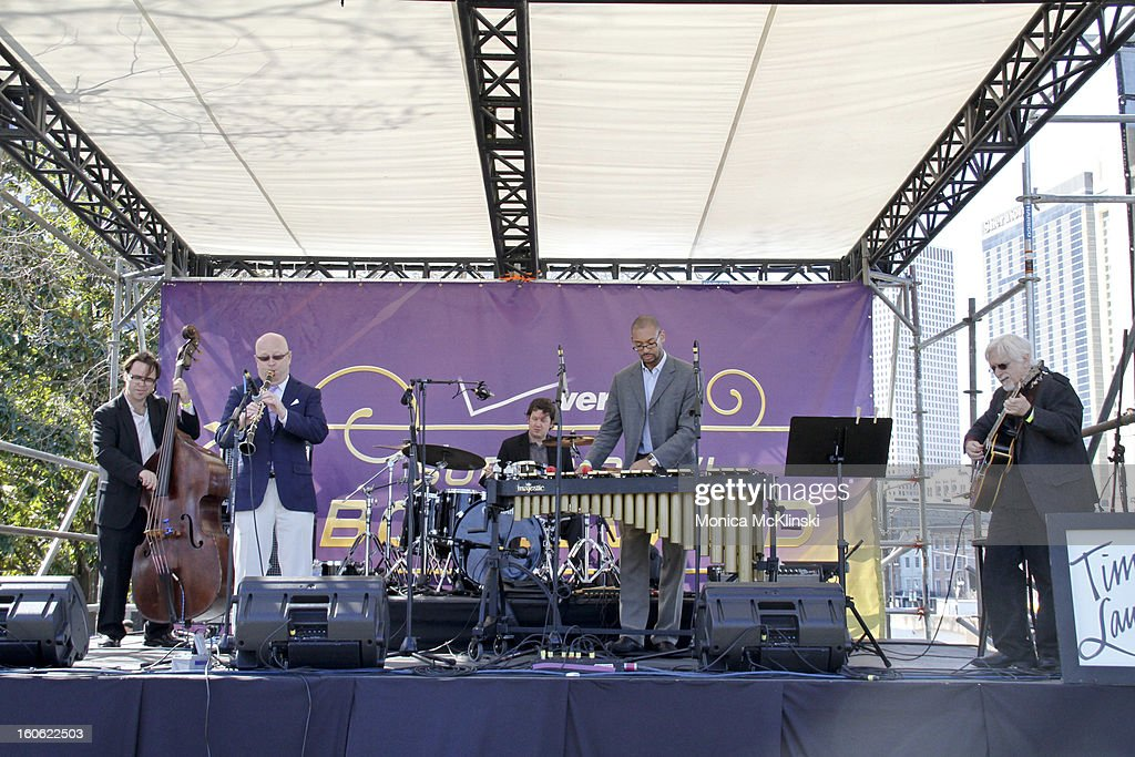 Tim Laughlin performs during the Verizon Super Bowl Boulevard at Woldenberg Park on February 3, 2013 in New Orleans, Louisiana.