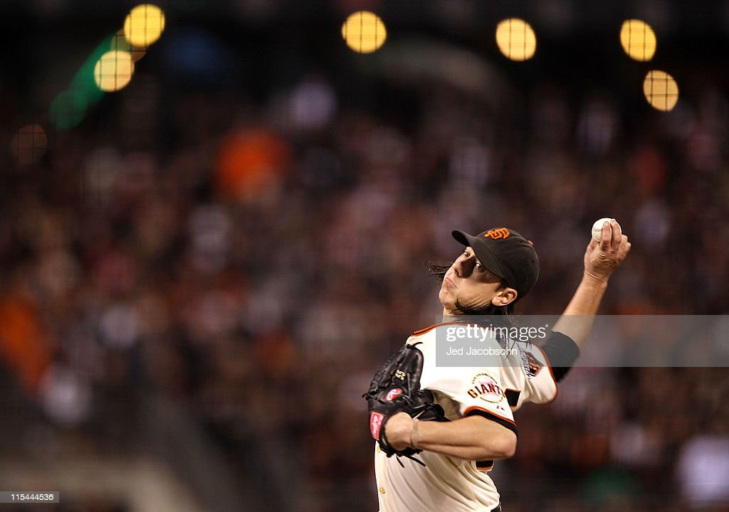 <a gi-track='captionPersonalityLinkClicked' href=/galleries/search?phrase=Tim+Lincecum&family=editorial&specificpeople=4175405 ng-click='$event.stopPropagation()'>Tim Lincecum</a> #55 of the San Francisco Giants pitches against the Washington Nationals during an MLB game at AT&T Park on June 6, 2011 in San Francisco, California.