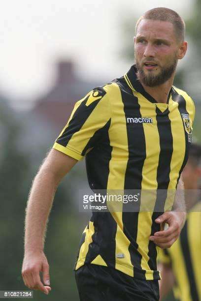 Tim Matavz of Vitesse during the friendly match between Vitesse Arnhem and KV Oostende at sportpark RKSV on July 08 2017 in Driel The Netherlands