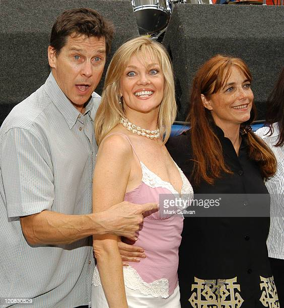 Tim Matheson Martha Smith and Karen Allen during 'Animal House' 25th Anniversary Ultimate Homecoming Parade DVD Release Celebration at Hollywood...