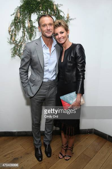 Tim McGraw and Faith Hill attend the 2015 Tribeca Film Festival After Party for 'Dixieland' at SushiSamba 7 on April 19 2015 in New York City