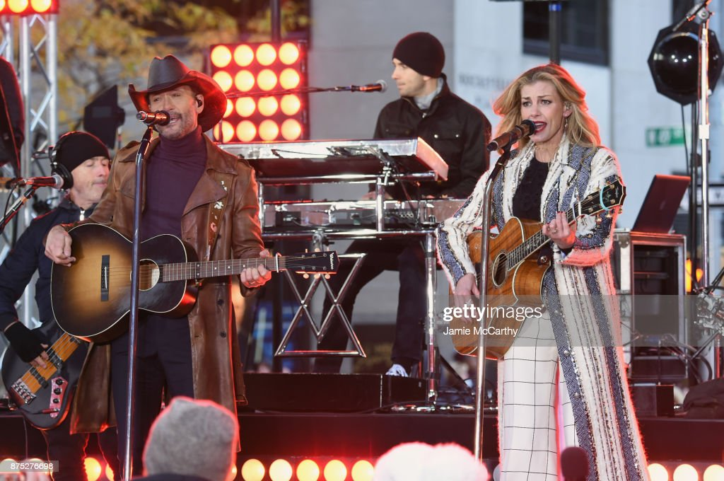 Tim McGraw & Faith Hill Perform On NBC's Today