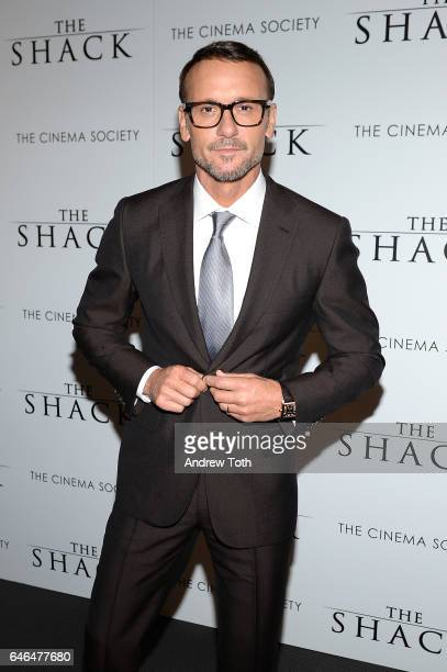 Tim McGraw attends the world premiere of 'The Shack' hosted by Lionsgate at Museum of Modern Art on February 28 2017 in New York City