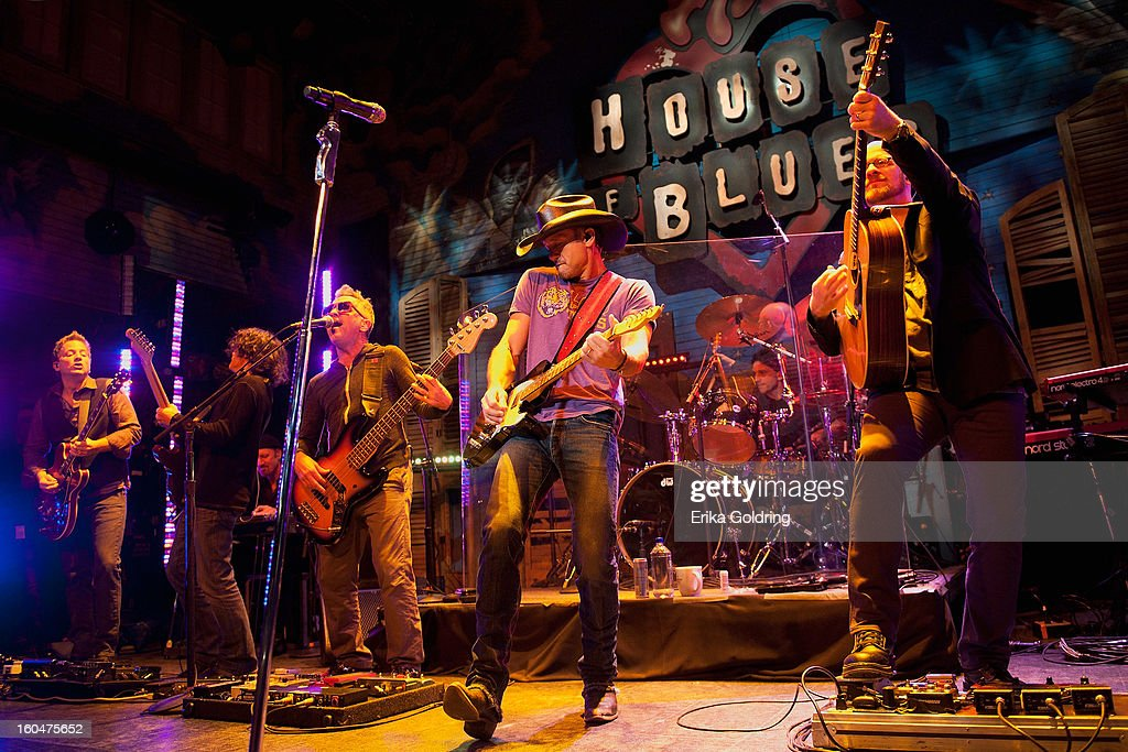 <a gi-track='captionPersonalityLinkClicked' href=/galleries/search?phrase=Tim+McGraw&family=editorial&specificpeople=202845 ng-click='$event.stopPropagation()'>Tim McGraw</a> performs at the House of Blues on February 1, 2013 in New Orleans, Louisiana.
