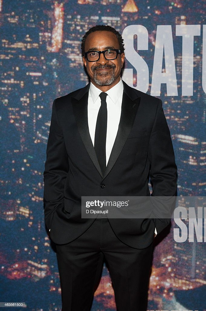 Tim Meadows attends the SNL 40th Anniversary Celebration at Rockefeller Plaza on February 15, 2015 in New York City.