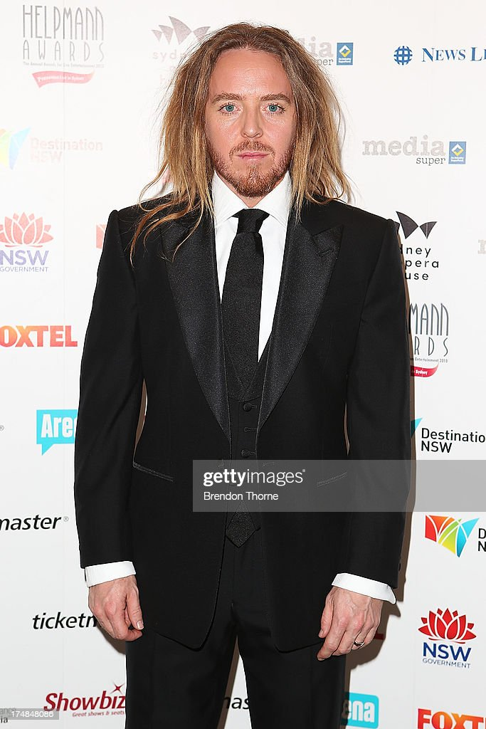 <a gi-track='captionPersonalityLinkClicked' href=/galleries/search?phrase=Tim+Minchin&family=editorial&specificpeople=2244352 ng-click='$event.stopPropagation()'>Tim Minchin</a> arrives at the 2013 Helpmann Awards at the Sydney Opera House on July 29, 2013 in Sydney, Australia.