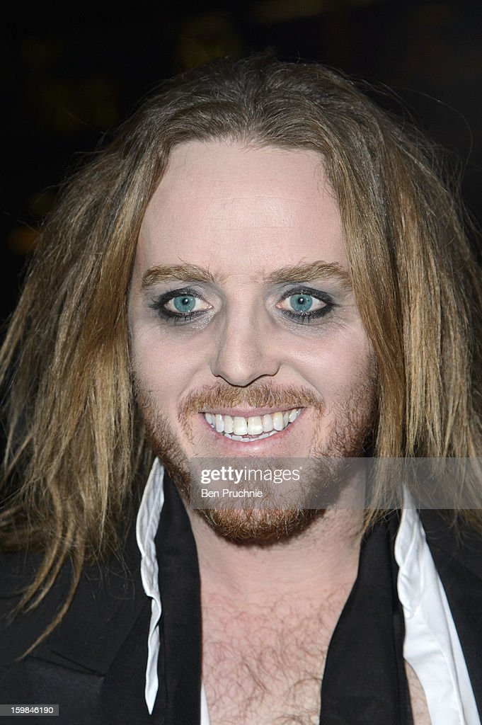 Tim Minchin attends the opening night of The Rocky Horror Picture Show at New Wimbledon Theatre on January 21, 2013 in Wimbledon, England.