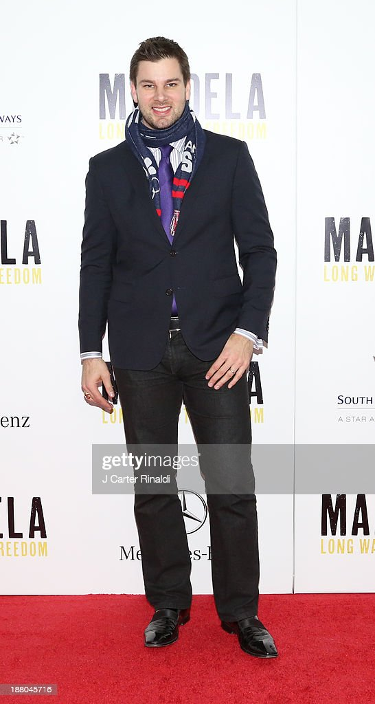 Tim Moorehouse attends the screening of 'Mandela: Long Walk to Freedom' hosted by The Weinstein Company, Yucaipa Films & Videovision Entertainment, supported by Mercedes-Benz, South African Airways & DeLeon Tequila at Alice Tully Hall, Lincoln Center on November 14, 2013 in New York City.