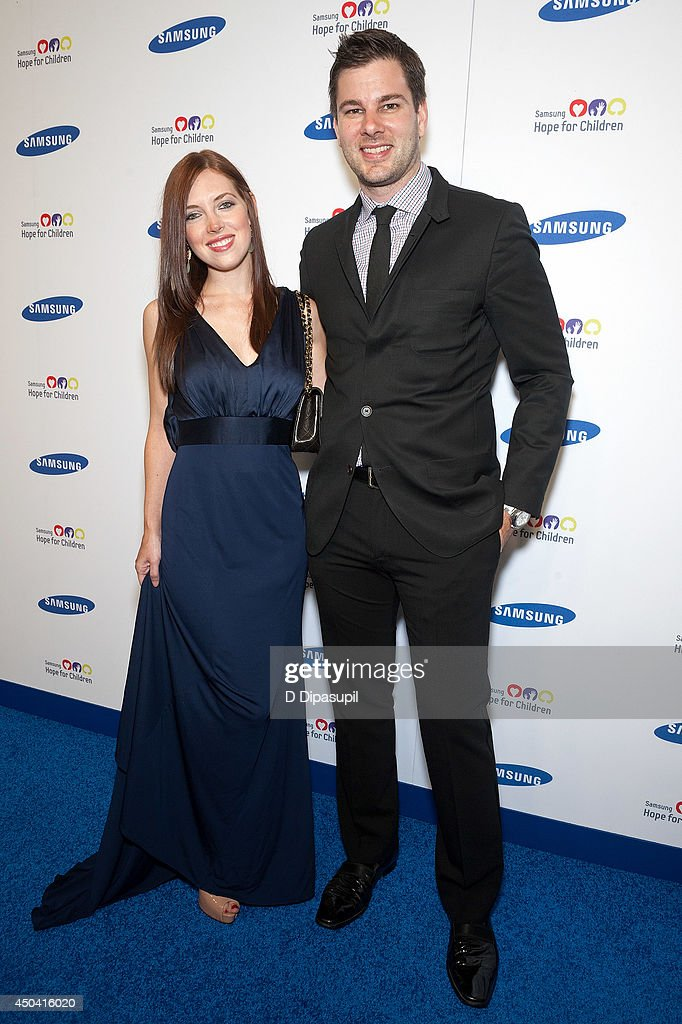 Tim Morehouse (R) and Rachael Morehouse attend the 13th Annual Samsung Hope For Children Gala at Cipriani Wall Street on June 10, 2014 in New York City.