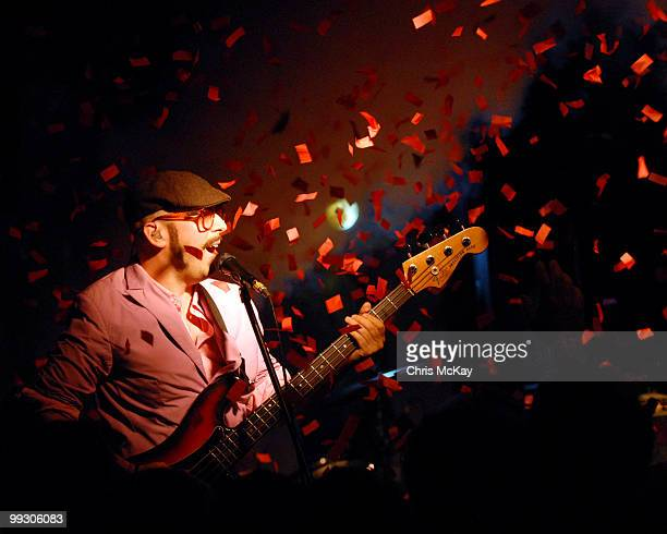 Tim Nordwind of OK Go performs at The Loft at Center Stage on May 13 2010 in Atlanta City