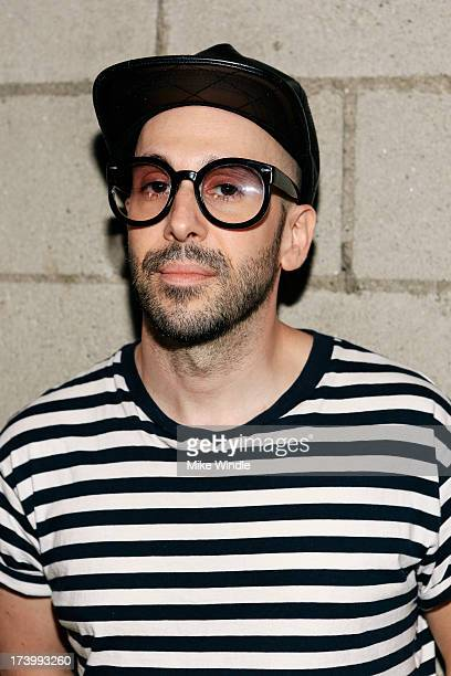 Tim Nordwind of Pyyramids poses at The Bootleg Theater on July 18 2013 in Los Angeles California