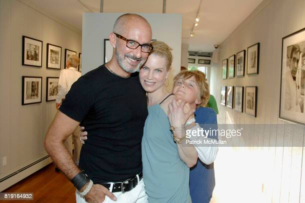 Tim O'Brien Robin O'Reilly and Miles O'Reilly attend Opening Reception for JOHN JONAS GRUEN at Gallery B on July 17 2010 in Sag Harbor NY