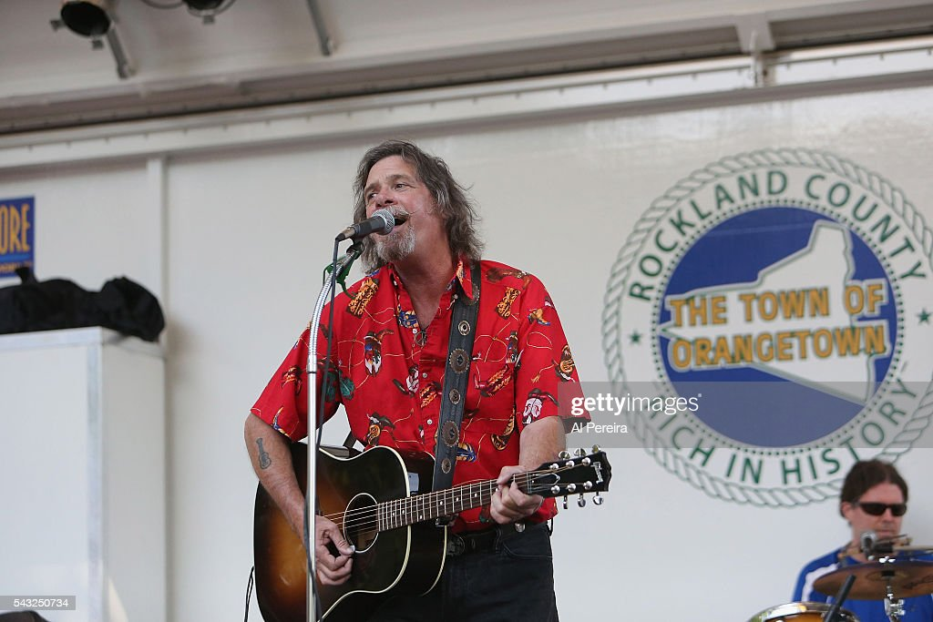 Tim O'Donohue & TMU Band performs at Day Two of the Rockland-Bergen Music Festival at German Masonic Park on June 25, 2016 in Tappan, New York.