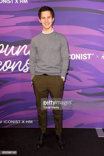 Tim Oliver Schultz attends the Young ICONs Award in cooperation with HM and Tiffany's Co at BRLO Brwhouse on February 14 2017 in Berlin Germany