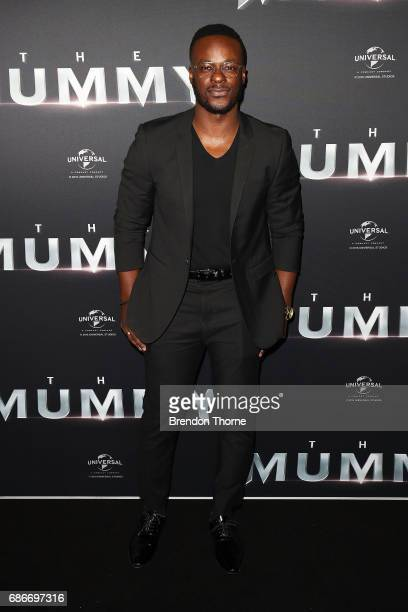 Tim Omaji arrives ahead of The Mummy Australian Premiere at State Theatre on May 22 2017 in Sydney Australia