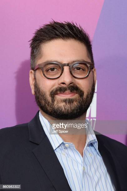 Tim Pastore arrives at the Premiere of Jane during the 61st BFI London Film Festival at Picturehouse Central on October 13 2017 in London England