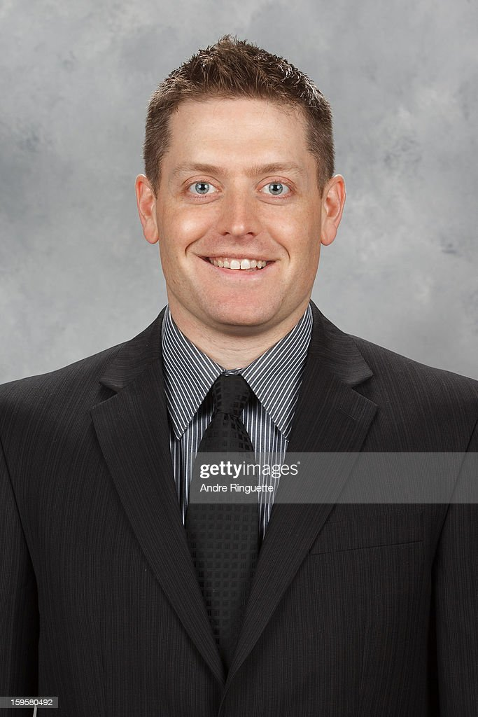 Tim Pattyson of the Ottawa Senators poses for his official headshot for the 2012-2013 season on January 12, 2013 at Scotiabank Place in Ottawa, Ontario, Canada.