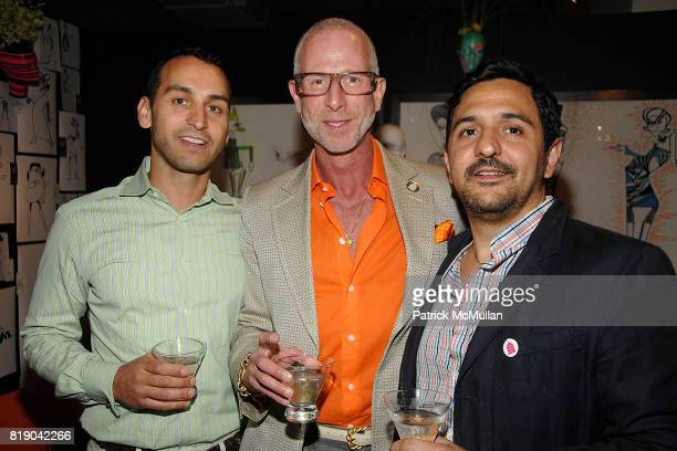 Tim Penny Jamie Drake and Jonathan Raiola attend HOUSING WORKS DESIGN ON A DIME opening night reception at Metropolitan Pavillion on May 6 2010 in...