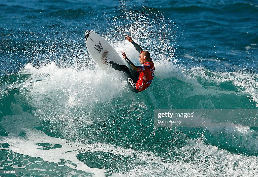 Tim Reyes of the United States of America competes during Round Two of the Rip Curl Pro as part of the ASP World Tour held at Bells Beach March 22...
