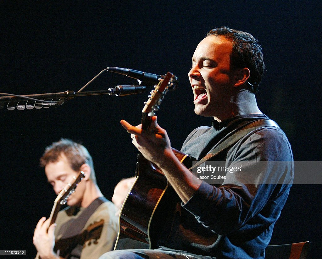 Tim Reynolds and Dave Matthews during Dave Matthews and Friends Perform in Chicago at Allstate Arena in Rosemont, Illinois, United States.