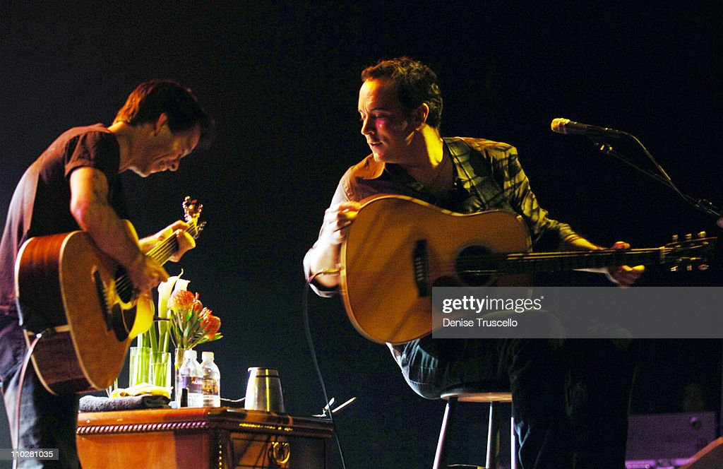 Dave Matthews and Tim Reynolds in Concert at The Aladdin Hotel and Casino