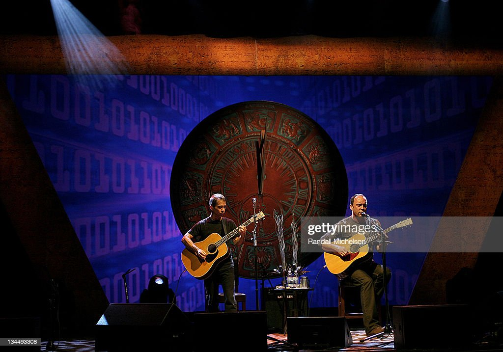 Tim Reynolds and Dave Matthews during Dave Matthews and Tim Reynolds 'Traveling Through Life' Concert Series Presented by Citi /AAdvantage Card in Los Angeles, California, United States.