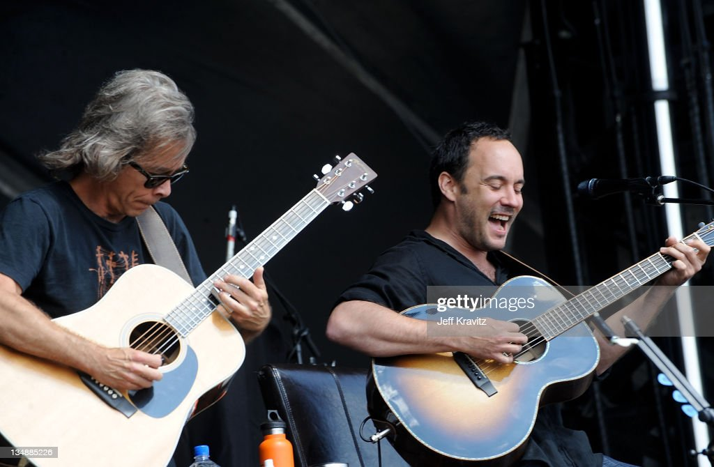Tim Reynolds and Dave Matthews perform during day two of Dave Matthews Band Caravan at Bader Field on June 25, 2011 in Atlantic City, New Jersey.