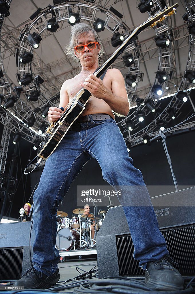 Tim Reynolds of TR3 performs during day two of Dave Matthews Band Caravan at Lakeside on July 9, 2011 in Chicago, Illinois.